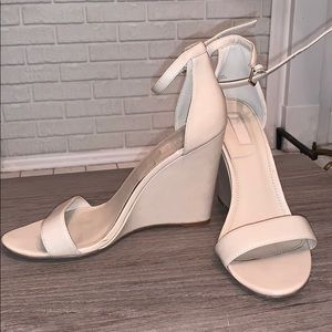 Forever 21 Nude Wedges